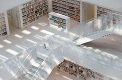 Estugarda, Alemanha - 21 de maio de 2015: A biblioteca pública de Estugarda, Foto de Stock