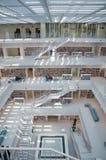 Estugarda, Alemanha - 21 de maio de 2015: A biblioteca pública de Estugarda, Imagens de Stock