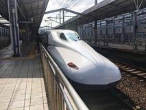 Estupendo exprese en la estación de Japón kokura foto de archivo libre de regalías