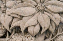 Estuque do concreto da flor foto de stock