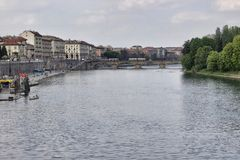 Estura River in Torino Royalty Free Stock Photo