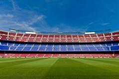 Esvazie o estádio de futebol Fotos de Stock Royalty Free