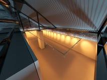 Esvazie o interior da exposição Fotografia de Stock Royalty Free
