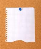 Esvazie o papel rasgado para o projeto do yout. Fotos de Stock