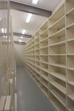 Esvazie o quarto de armazenamento dos registros Fotografia de Stock Royalty Free