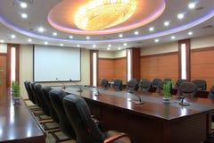 Esvazie o quarto de reunião Imagens de Stock