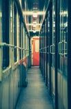 Esvazie o trem Foto de Stock