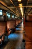Esvazie o trem HDR Fotos de Stock Royalty Free