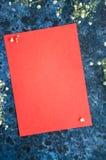 Esvazie a página do caderno Fotos de Stock Royalty Free