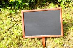 Placa preta vazia Imagens de Stock