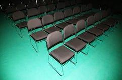 Esvazie a sala de conferências da imprensa de cima de foto de stock royalty free