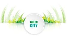 Esverdeie a cidade Conceito da ecologia Salvar a vida e o ambiente Imagem de Stock
