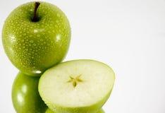 Esverdeie a maçã Fotografia de Stock Royalty Free