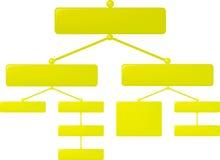 Esverdeie o diagrama Imagens de Stock