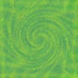 Esverdeie o papel de parede espiral torcido do redemoinho da textura com teste padrão de mosaico Fotografia de Stock Royalty Free