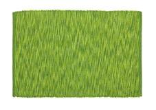 Esverdeie o tablecloth imagem de stock