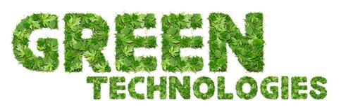 ESVERDEIE tecnologias Imagem de Stock Royalty Free