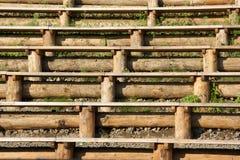 eszelony drewniani Obraz Stock