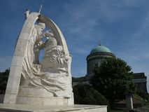 Esztergom, Венгрия - базилика Стоковые Фотографии RF