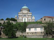 Esztergom, Венгрия - базилика Стоковая Фотография