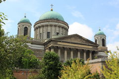 Esztergom basilica Royalty Free Stock Photo