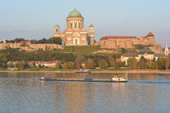 Esztergom Basilica (Hungary). The Cathedral and Primatial Basilica of the Blessed Virgin Mary Assumed Into Heaven and St Adalbert Stock Images