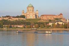 Esztergom Basilica (Hungary) Stock Images