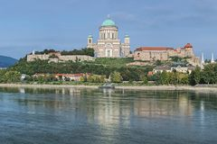 Esztergom Basilica, Hungary stock photography