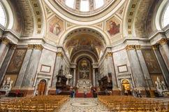 Esztergom Basilica interior Royalty Free Stock Image