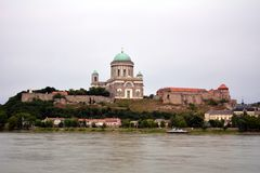 Esztergom Basilika Stockbilder