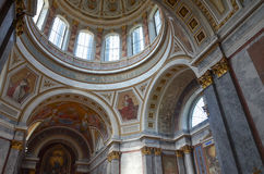 Esztergom cathedral Royalty Free Stock Images