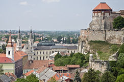 Esztergom, Hongarije royalty-vrije stock afbeelding