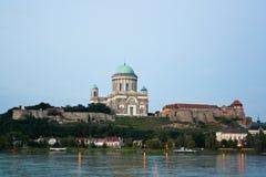 Esztergom. The monumental Basilica in Esztergom Royalty Free Stock Images