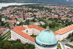Esztergom scenery Stock Photo