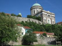 Esztergom, Ungarn - Basilika Lizenzfreie Stockbilder