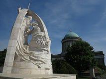 Esztergom Ungern - basilika Royaltyfria Foton