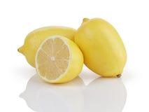 2 et demi citrons Photos libres de droits