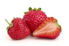 2 et demi fraise. Photo libre de droits