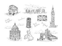 Et of England  fragment Stock Photos