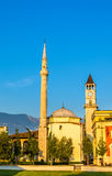 The Et'hem Bey Mosque in Tirana Stock Photos