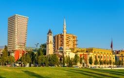 The Et'hem Bey Mosque in Tirana. Albania Royalty Free Stock Image