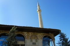 Et`hem Bey Mosque. Tirana - Albania royalty free stock images