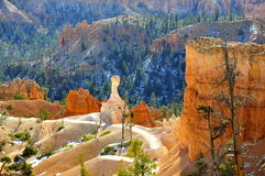 The ET-Hoodoo of Bryce Canyon National Park, Utah Stock Images