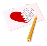 Et je t'aime ! illustration de vecteur
