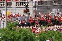 Et Kate dans le chariot Photo libre de droits