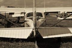 Et l'avion a indiqué : «Je veux voler» Images stock