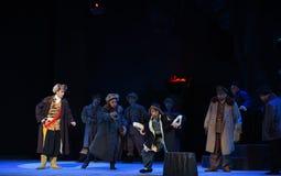 """Et l'opéra de confrontation-Pékin d'espions """"Taking le  de € de Tiger Montain By Strategyâ photo stock"""