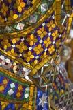 Or et mosaïque colorée Photographie stock libre de droits