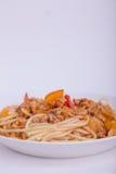 Et sauce à spaghetti Photos stock