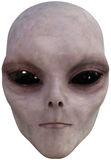 ET Space Alien Face Isolated stock illustration